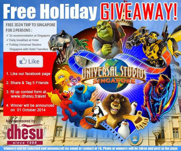 The Jesselton Girl Giveaway: Free 3D2N to Singapore