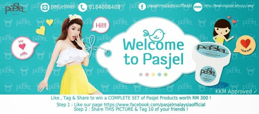 The Jesselton Girl Giveaway: PasJel Malaysia's 'Like, Tag & Share' Giveaway