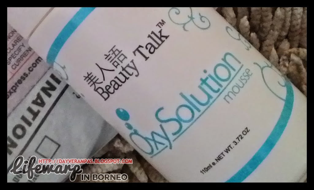 Review: Beauty Talk Oxy Solution Mousse Cleanser 110ml