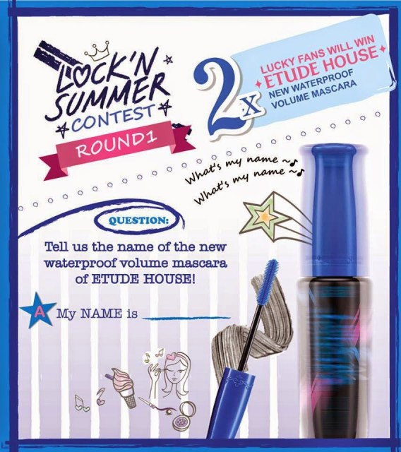 The Jesselton Girl Giveaway: Etude House Lock'n Summer Proof Lash Perm Proof Shockcara