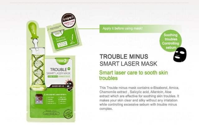 Beauty Clinic Mediheal Trouble Minus Smart Laser Mask3
