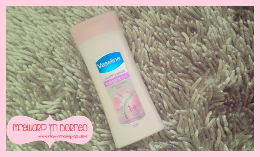 The Jesselton Girl Review: Vaseline Healthy White Instant Fair Lotion 100ml
