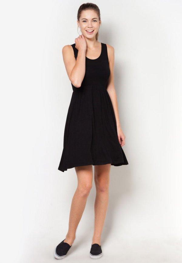 F Block Sleeveless Dress -RM 20.80