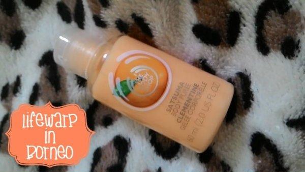 Beauty: The Body Shop Mini Satsuma Body Puree, The Jesselton Girl