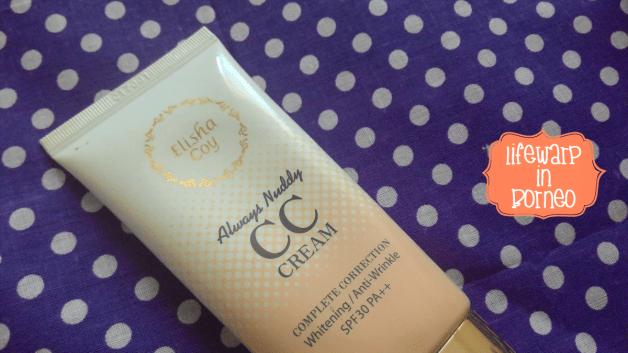 Review: ElishaCoy Always Nuddy CC Cream SPF30 PA++