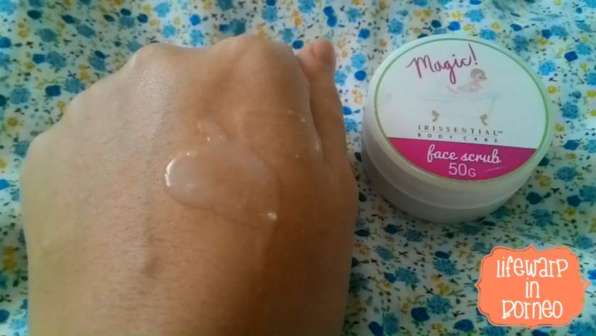 The Jesselton Girl Review: Irissential Magic Face Scrub