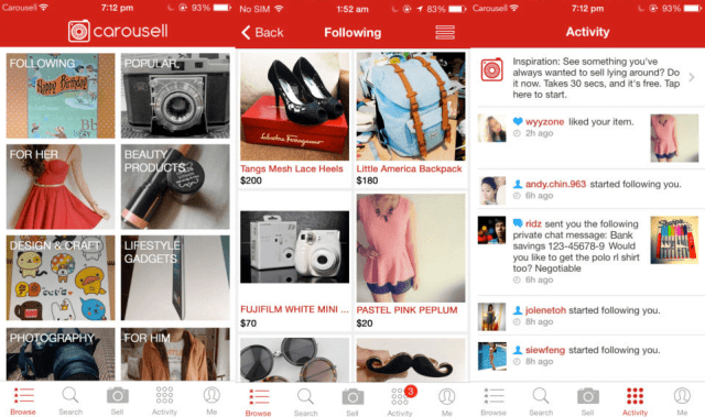 The Jesselton Girl Apps: Sell Your Items @ Carousell