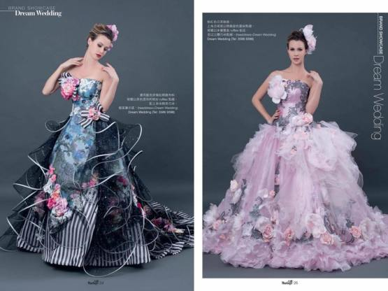 The Jesselton Girl Wedding: Floral Collection by Dream Wedding (日系婚紗嫁衣)