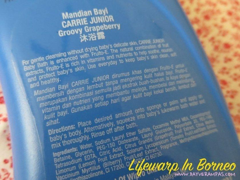 The Jesselton Girl Baby: Carrie Junior Baby Bath - Groovy Grapeberry