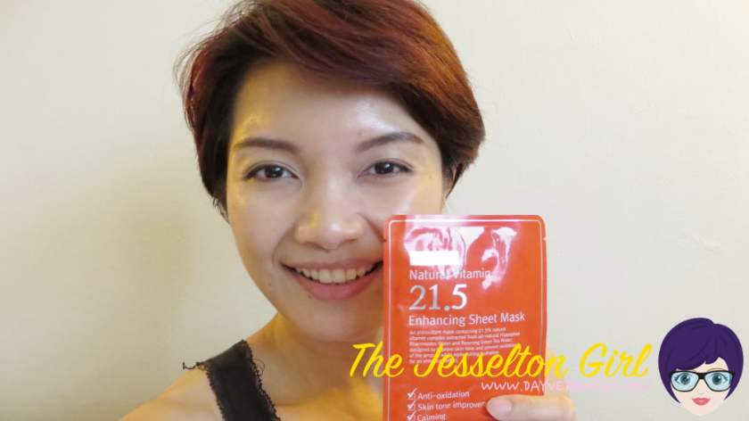 The Jesselton Girl Review: C20 Natural Vitamin 21.5 Enhancing Sheet Mask