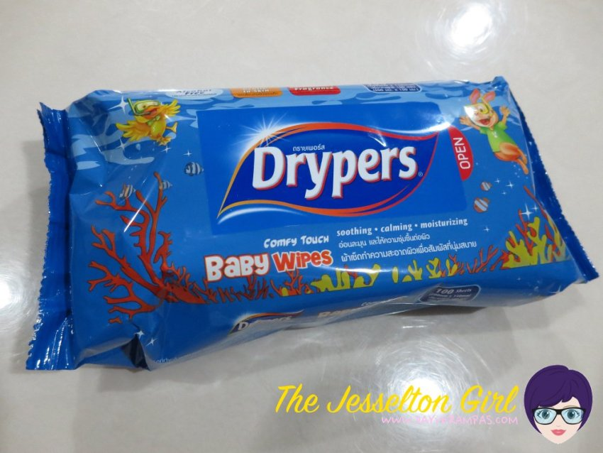Baby: Drypers Baby Wipes, The Jesselton Girl