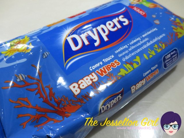 The Jesselton Girl Baby: Drypers Baby Wipes