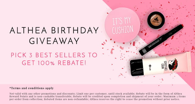The Jesselton Girl Beauty: Althea Korea Turns ONE today!