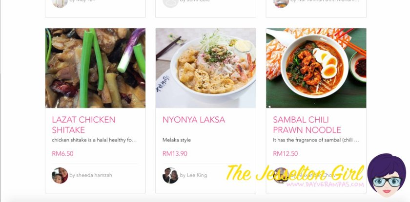 The Jesselton Girl Where To Buy: Home-Cooked Meals at Foooqy
