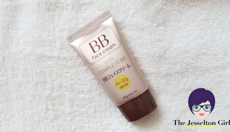 The Jesselton Girl Review: Daiso Skin Complete BB Face Cream