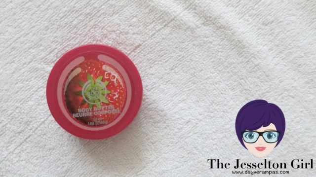 The Jesselton Girl Kecantikan: Kenapa Tidak Bulih Makan The Body Shop Strawberry Body Butter