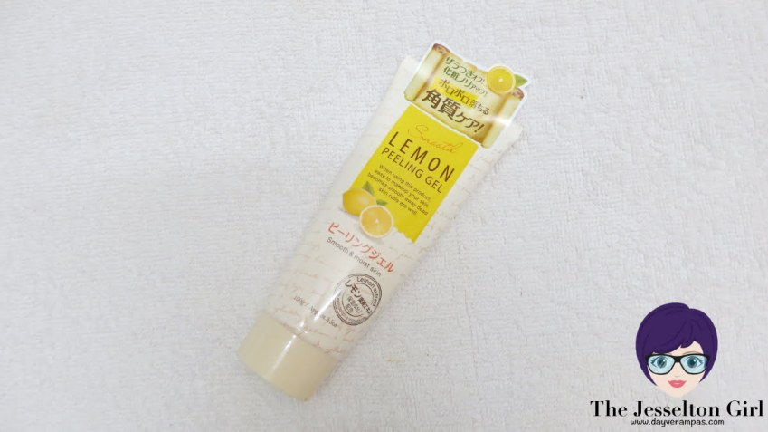 The Jesselton Girl Review: Daiso Smooth & Moist Lemon Peeling Gel [NOT RECOMMENDED]