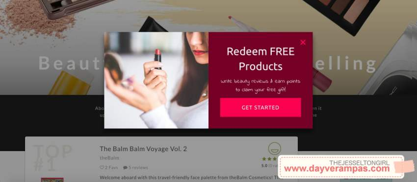 The Jesselton Girl Reward: Redeem Beauty Products for Free at Favful
