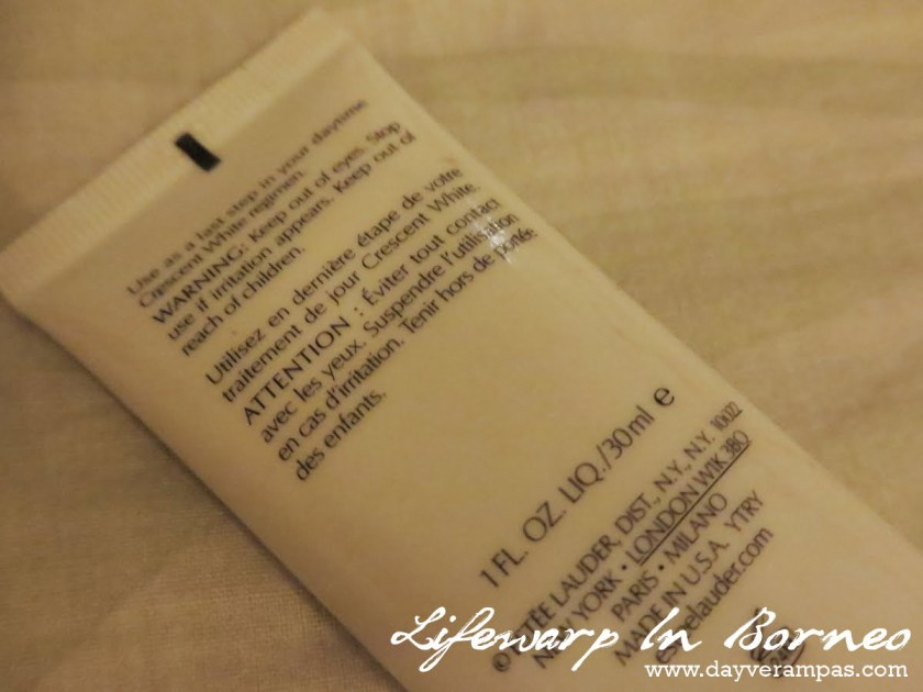 The Jesselton Girl Beauty: Estée Lauder Crescent White Full Cycle Brightening UV Protector SPF50/PA++++