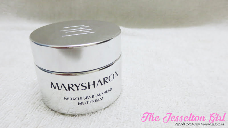The Jesselton Girl Beauty: MarySharon SPA Blackhead Melting Cream