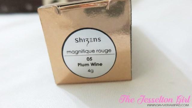 Shizens Magnifique Rouge Lipstick