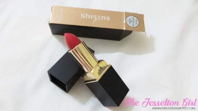 The Jesselton Girl Beauty: Shizens Magnifique Rouge Lipstick - #05 Plum Wine