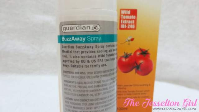Health: Guardian BuzzAway Insect Repellant Spray, The Jesselton Girl