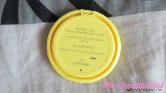 The Jesselton Girl Beauty: Garnier Skin Naturals Visible Whitening Face Powder Lasting Shine-Free SPF18
