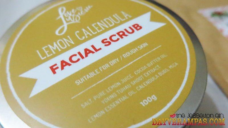 Love, Lusie's Lemon Calendula Facial Scrub