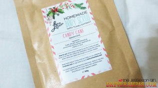 The Jesselton Girl Review: Love, Lusie's Candy Cane Body Scrub & Peaches N' Cream Body Scrub