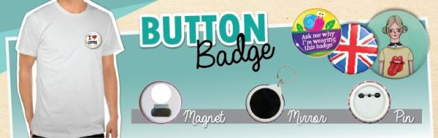 Promotion: How To Get Button Badges As Low As RM0.40 From Liberty Printing
