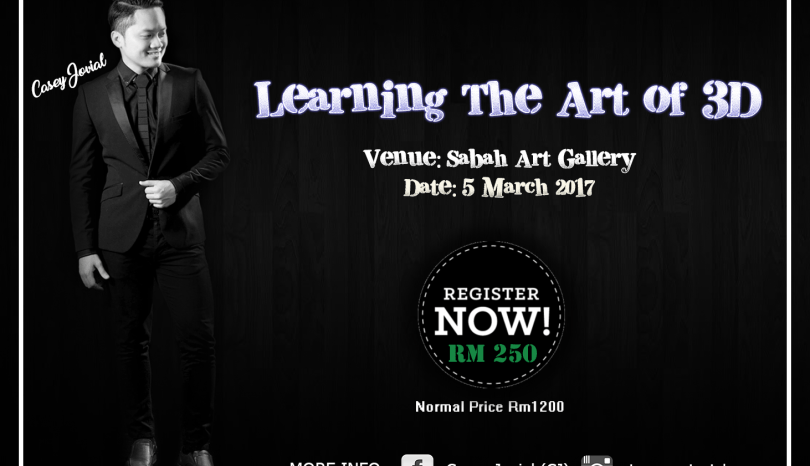 The Jesselton Girl Event: Learning The Art of 3D with Casey Jovial