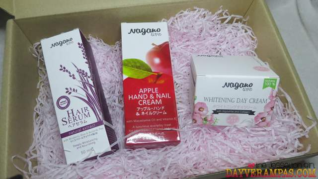Review: Top 3 Best-Seller NAGANO Japanese Premium Skincare Products in a Box, The Jesselton Girl