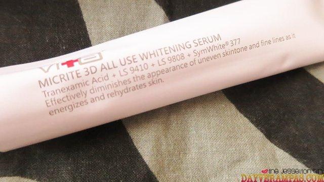 The Jesselton Girl Review: Swissvita Skin Lab's Micrite 3D All Use Whitening Serum