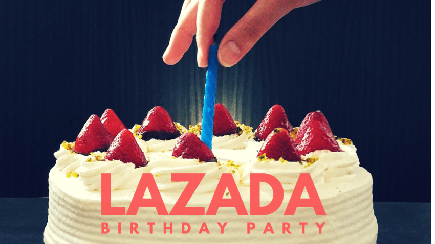 Event: Lazada 5th Birthday Surprise on 22 – 24 March 2017, The Jesselton Girl