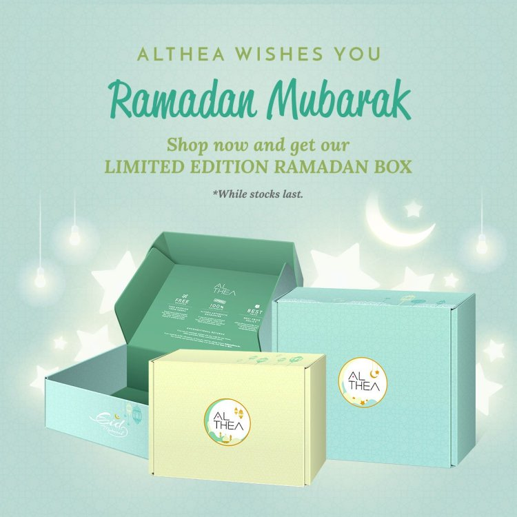The Jesselton Girl Five (5) Reasons to Shop @ Althea this Ramadhan