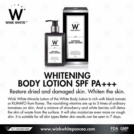 The Jesselton Girl Whiter and Glowing Skin with the New Wink White Whitening Body Lotion