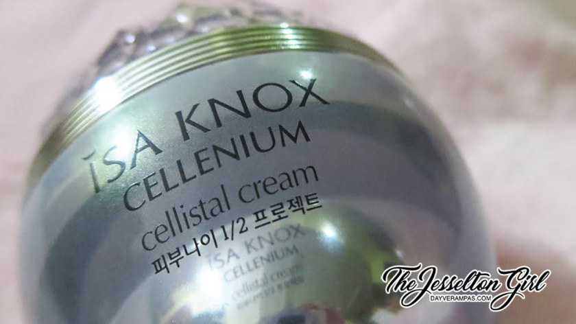 The Jesselton Girl Review: ISA KNOX (이자녹스) CELLENIUM Cellistal Cream