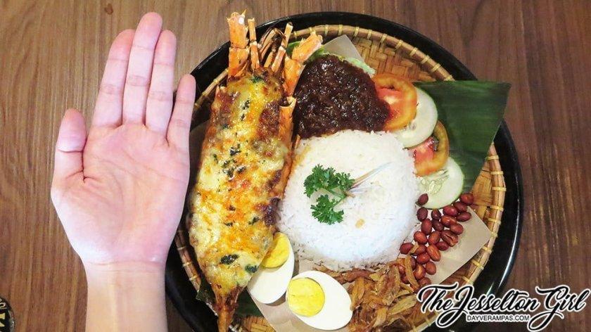 The Jesselton Girl Where To Eat: Tavern Kitchen & Bar's New Menu - Lobster Nasi Lemak