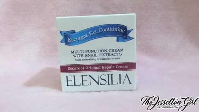 Review: [ELENSILIA 엘렌실라] Escargot Original Repair Cream, The Jesselton Girl