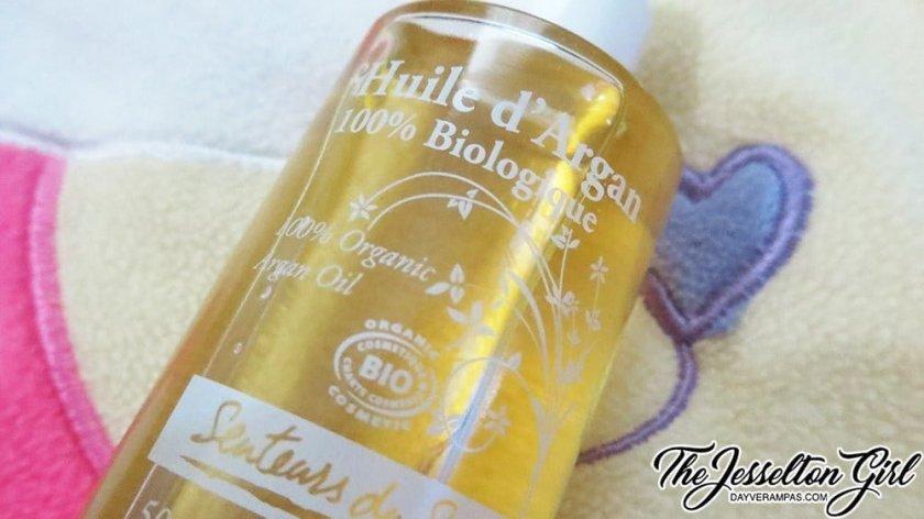 The Jesselton Girl Review: Senteurs du Sud 100% Organic Argan Oil