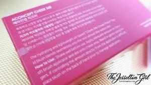 The Jesselton Girl A:Concept Water Cheek Blusher in Miss Me