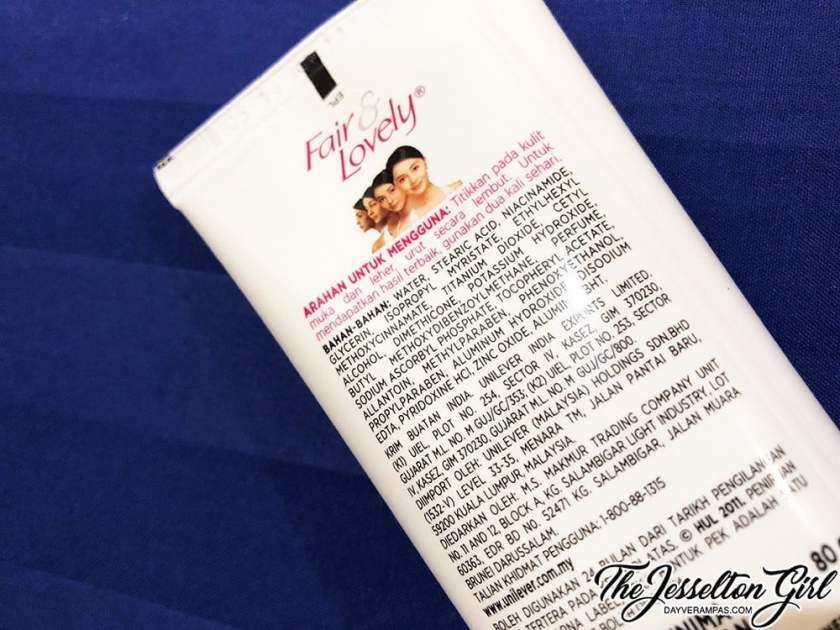 The Jesselton Girl What I Think: Fair & Lovely Advanced Multi Vitamin Cream