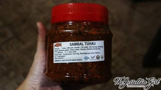 Serunding & Sambal Tuhau from Ranau