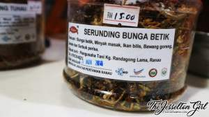 The Jesselton Girl Serunding & Sambal Tuhau from Ranau