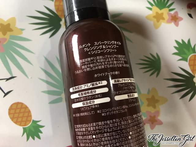 LE MENT Sparkling Oil Cleansing and Shampoo