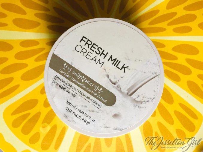 The Face Shop Daegwallyeong Fresh Milk Cream(2)