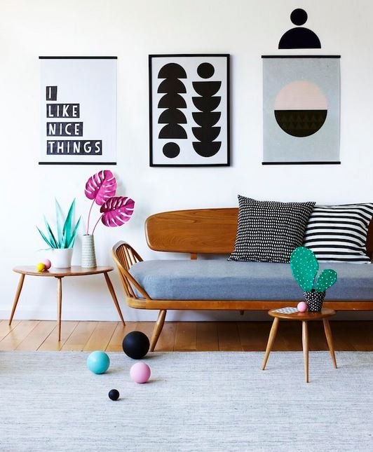 Shop The Look: Artful Scandinavian Interior
