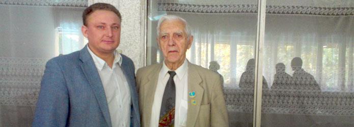Дмитрий Мозер и Эрнст Боос. | Фото предоставлено Дмитрием Мозером