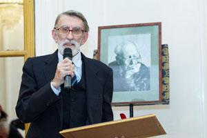 На вручении директору музея Н.В.Благово Премии имени академика Д.С.Лихачёва.